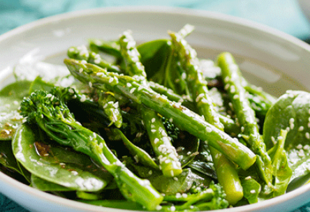 Asparagus Salad with Vinaigrette