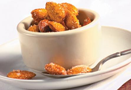 Spiced Honey Almonds