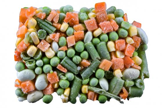 Frozen Vegtables: Peas, Green Beans, Corn, Lima Beans and Carrots