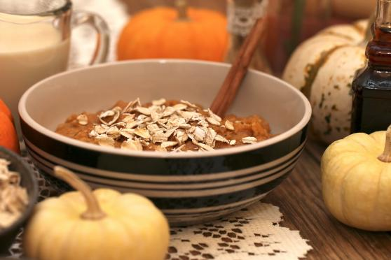 Slow Cooker Pumpkin Oatmeal