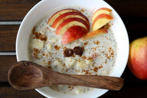Breakfast Alternatives: Apple Pie Chia Pudding