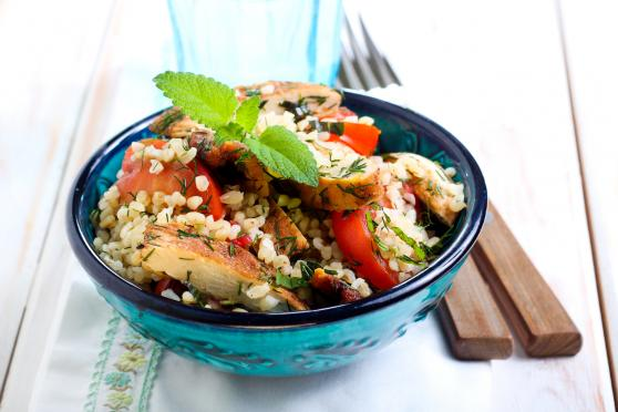Photo: Chicken Bulgur Salad