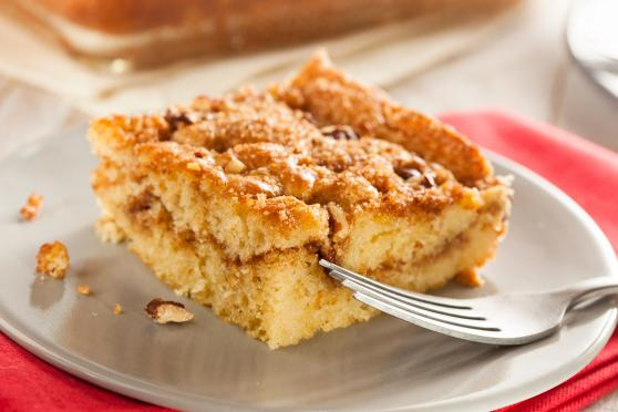 Photo: Cinnamon-Pecan Streusel Coffee Cake.